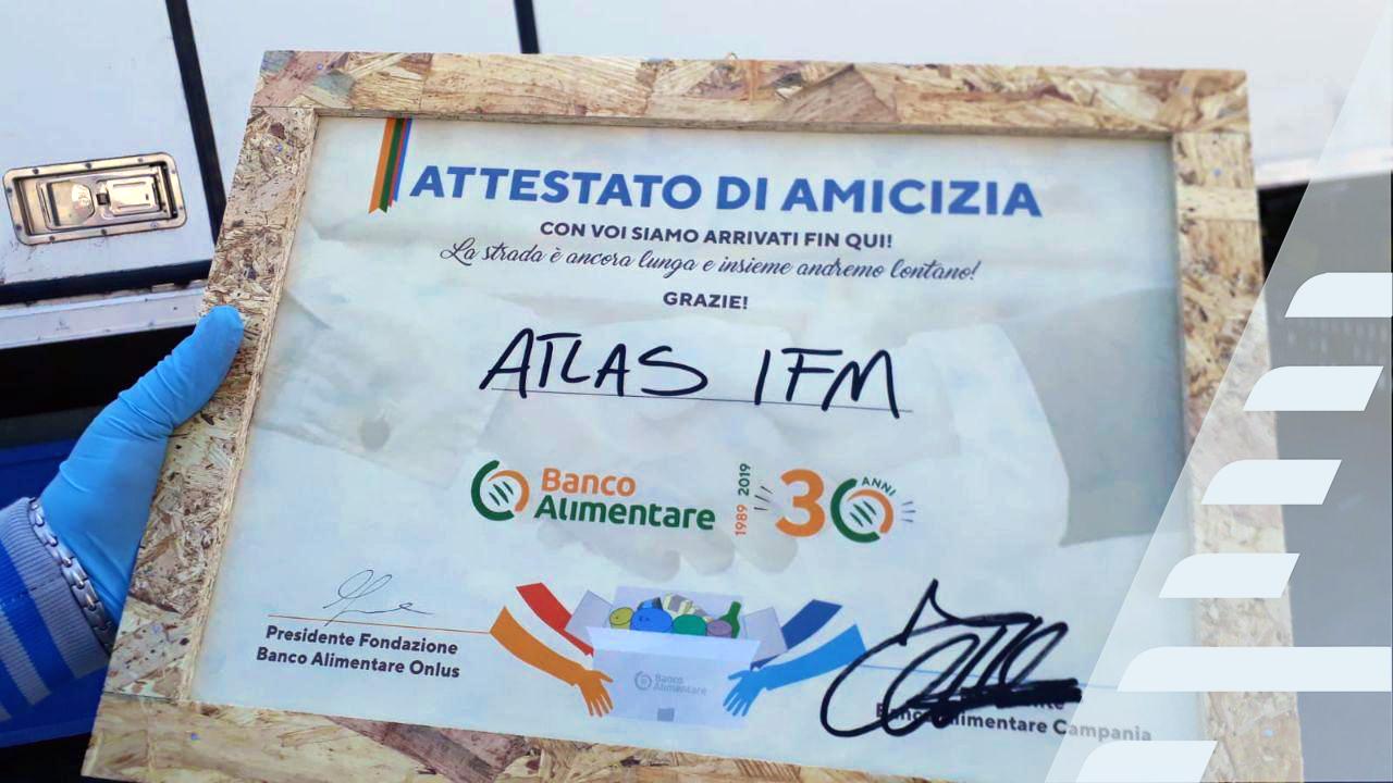 atlas i.f.m. e Banco Alimentare Onlus